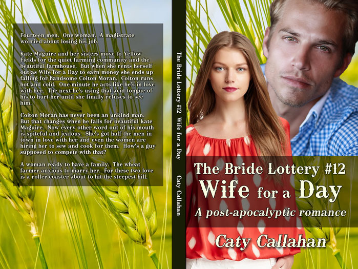 Bride Lottery 12 Wife for a Day by Caty Callahan | Sweet romances for young adults