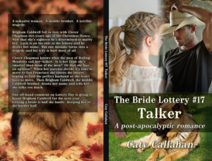 Bride Lottery 17 Talker by Caty Callahan | Sweet romances for young adults