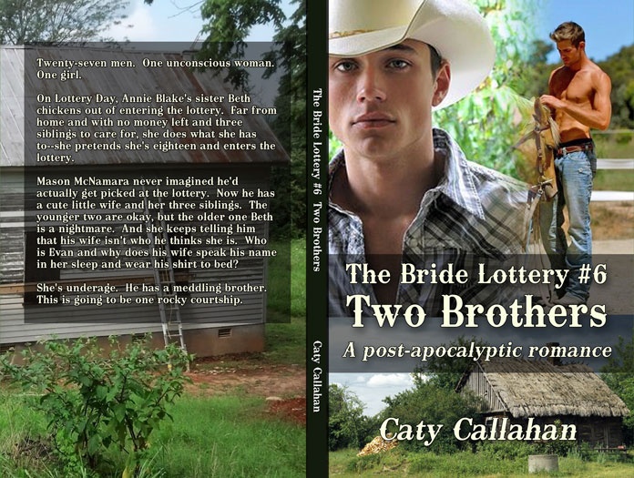 Bride Lottery 6 Two Brothers by Caty Callahan | Sweet romances for young adults