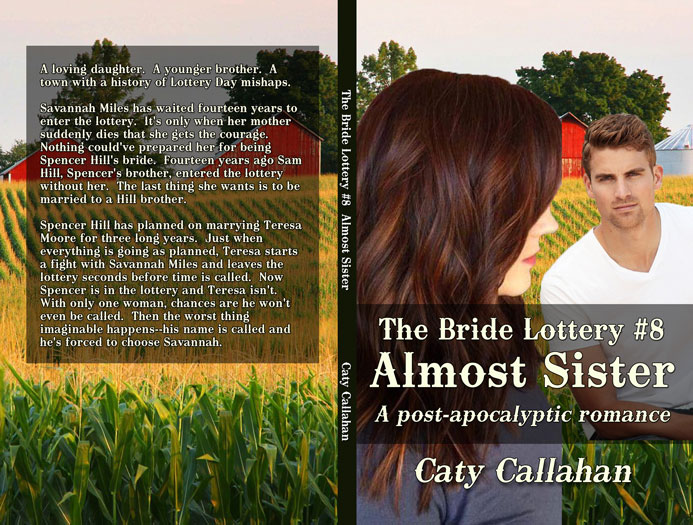 Bride Lottery 8 Almost Sister by Caty Callahan | Sweet romances for young adults
